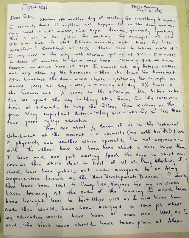 Myer Letter 1