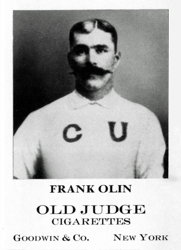 Frank Olin Baseball Card