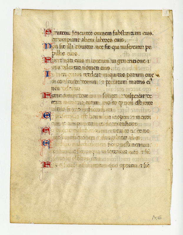 ACC leaf from a Florentine psalter and hymnal verso.jpg