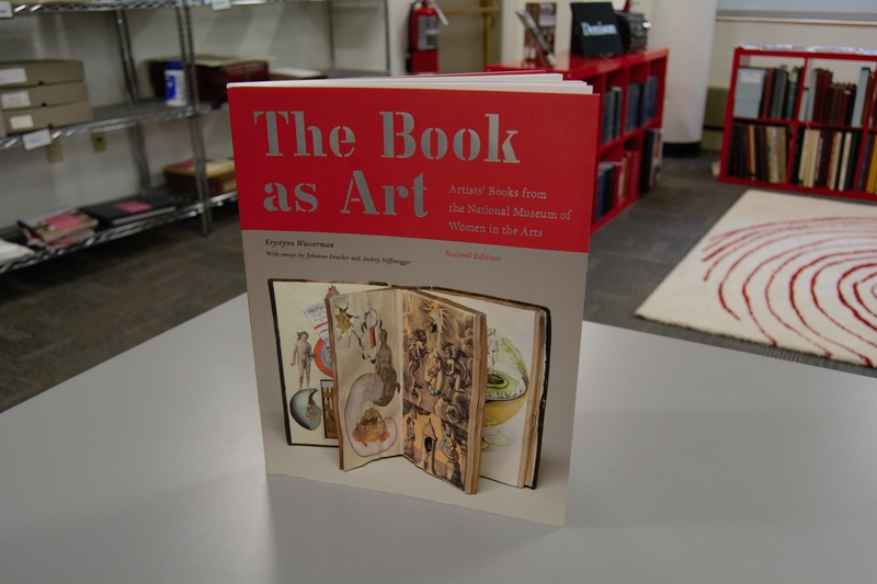 Front cover of the book The Book as Art standing up