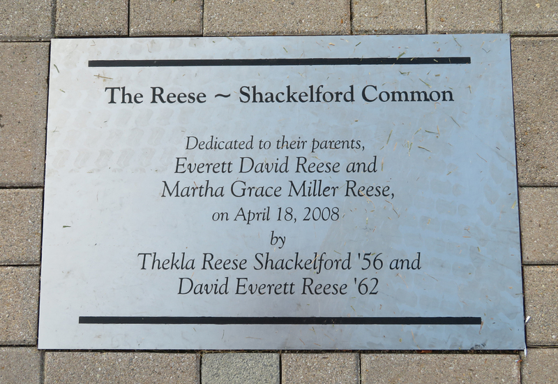 Reese ~ Shackelford Common Plaque