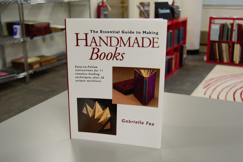 Front cover of the book The Essential Guide to Making Handmade Books standing