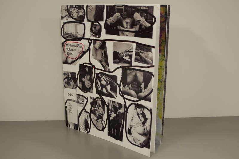 Photo of artist book Mother Mother by Sheilah Wilson