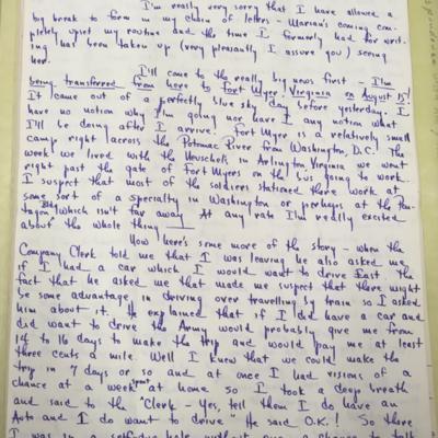 Lewis Letter 16