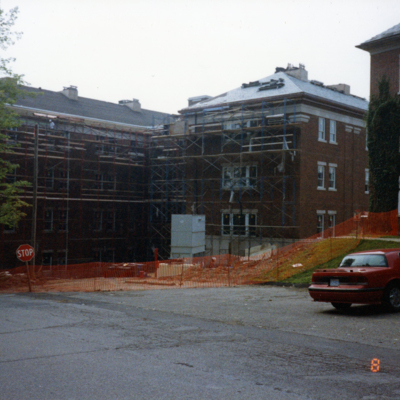 Olin Rear Exterior - Construction