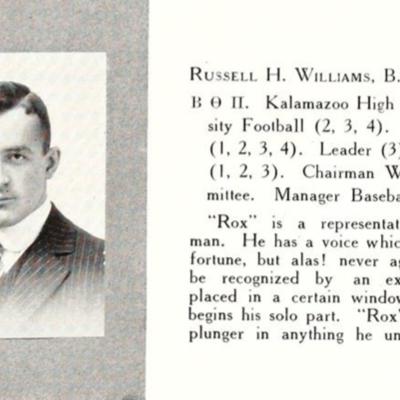 Dr. Williams Senior Portrait
