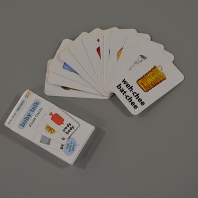 Baby Talk Flash Cards