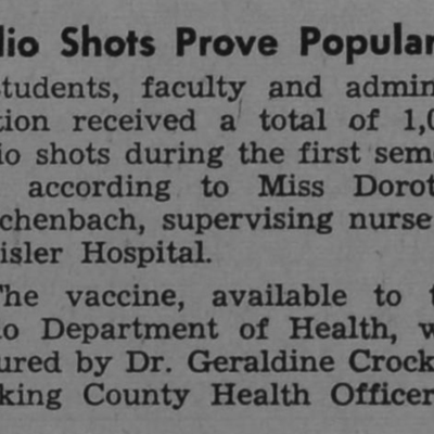 Polio Shot clipping