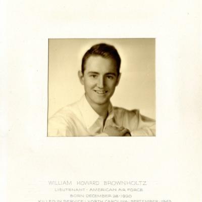 Brownholtz, William Howard, 1ST LT