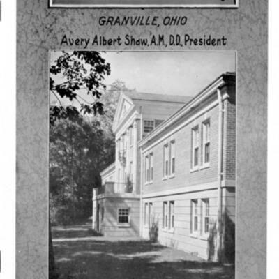 Whisler Denison University Bulletin