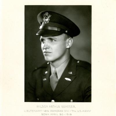 Geneser, Wilson Arthur, LT