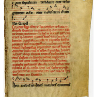 E0008 Leaf from a Gradual (Graduale)