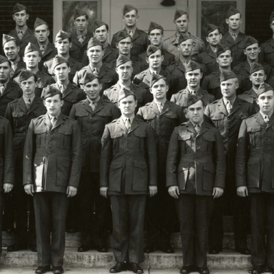 V-12 Marine Trainees