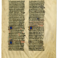 E0026 Leaf from a Missal (Missale)