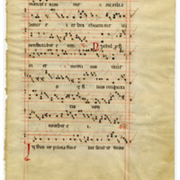E0109 Leaf from an Anghiari Gradual