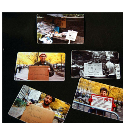 Occupy Your Wallet: Photographs of Various Occupy Wall Street Sites, An Ongoing Project, 2011 - ?