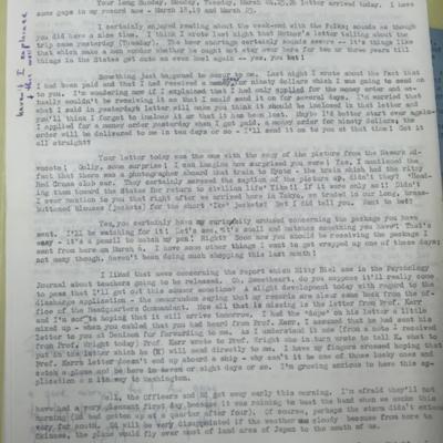 Train Letter 1