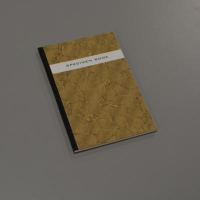 Specimen book