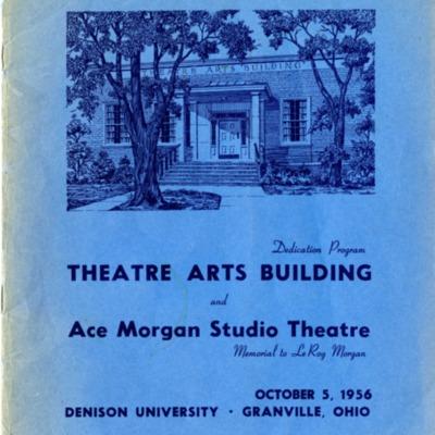 Theatre Arts Building Dedication Program