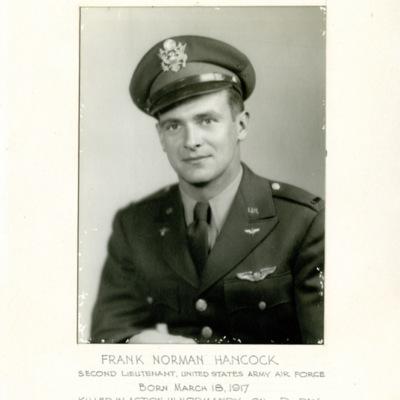 Hancock, Frank Norman, 2D LT