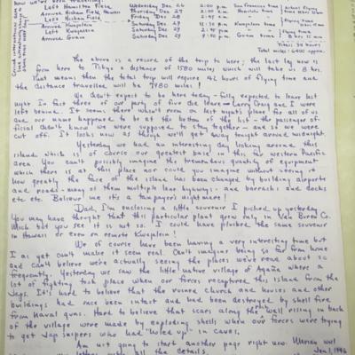 Island Hopping Letter 2