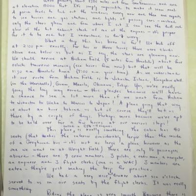 Island Hopping Letter 1
