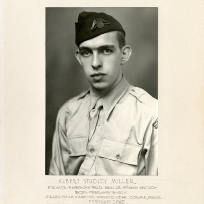 Miller, Albert Studley, PVT