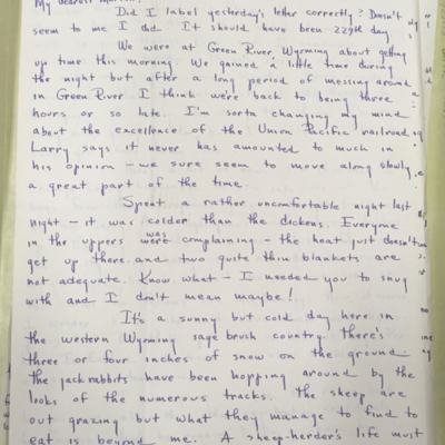 Airfield Letter 3