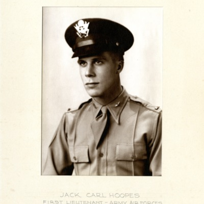 Hoopes, Jack Carl, 1ST LT