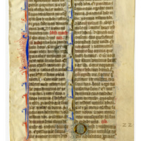E0023 Leaf from a Breviary (Breviarium)