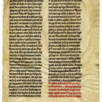 E0044 Leaf from a Bible (Biblia Sacra Latina, Versio Vulgata)