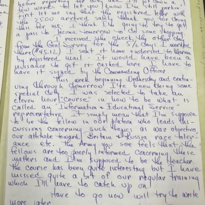 Lewis Letter 1