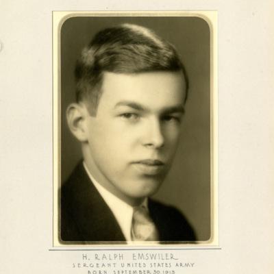 Emswiler, Ralph H., SGT