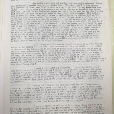 Sights Letter 1