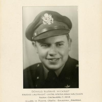 Wickert, Donald Eugene, 2D LT