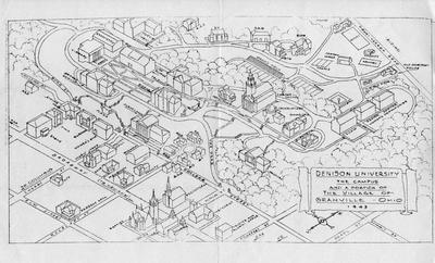 1943 Campus Map