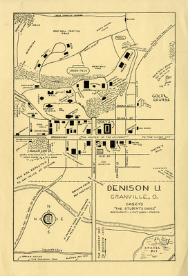 1930s Campus Map