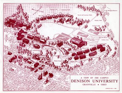 1980 Campus Map