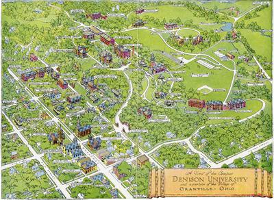 1944 Campus Map