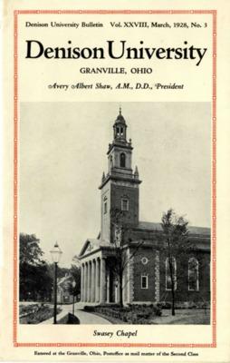 1928 Viewbook