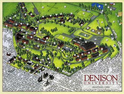 2004 Campus Map
