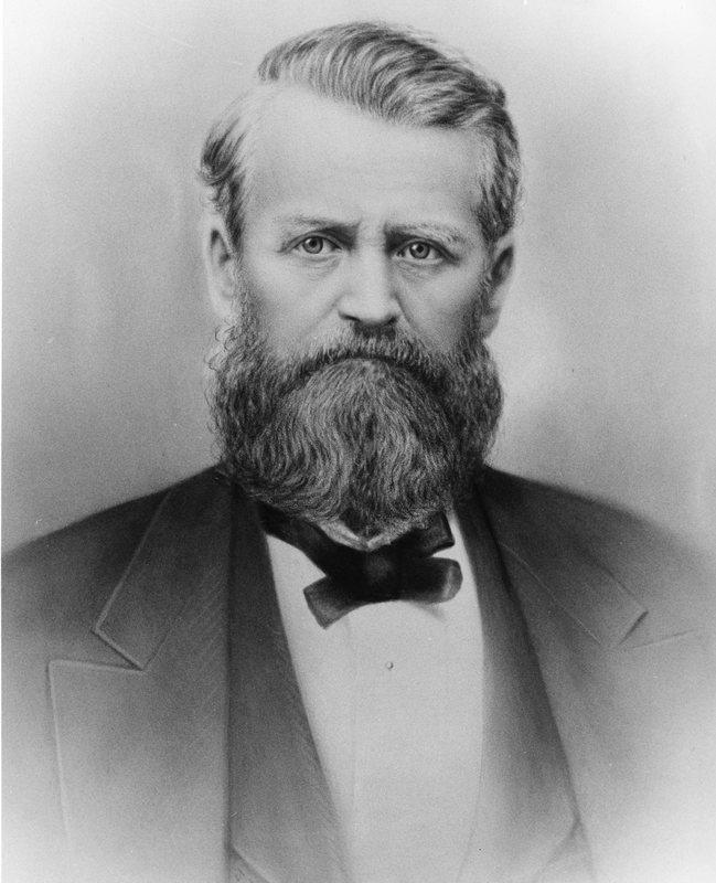 Eliam E. Barney Portrait