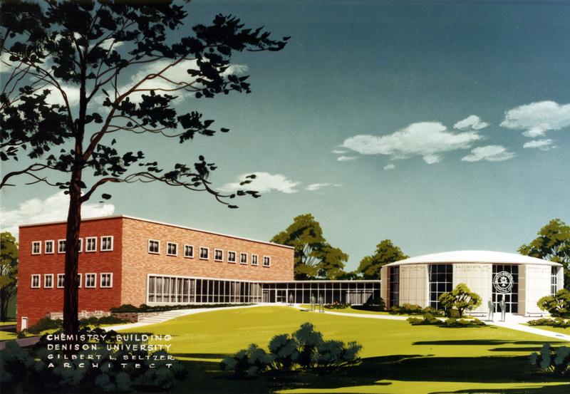 Herrick Hall / Ebaugh Laboratories Architect's Painting