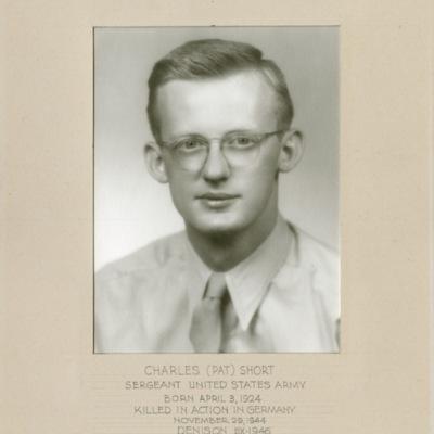 Short, Charles (Pat), SGT