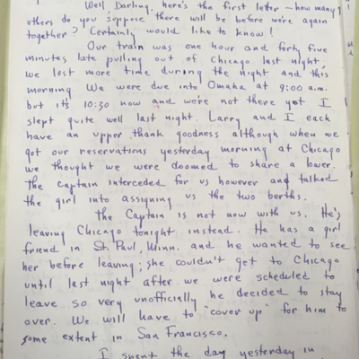 Airfield Letter 2