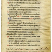 E0034 Leaf from a Psalter (Psalterium)