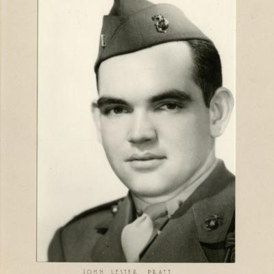 Pratt, John Lester, 1ST LT