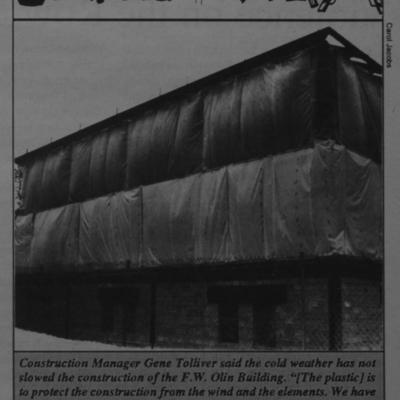Construction Corner - Plastic Wrap