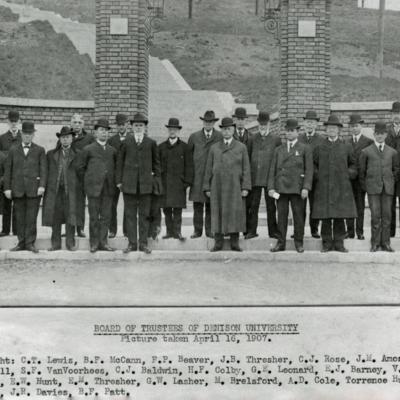 1907 Trustees Group Photo