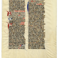 E0033 Leaf from a Missal (Missale)